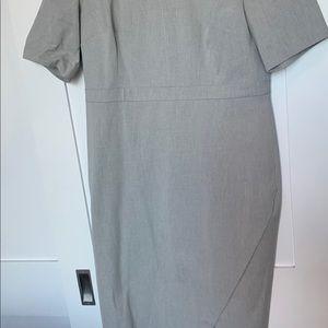 Banana Republic Dresses - Grey short sleeve shirt dress